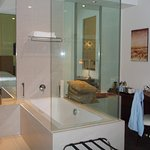 Bathtub in the room