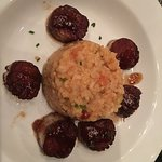 Scallops with risotto ;-)