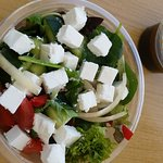 Fresh Greek Salad.