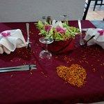Notre table merci Mokhtar ...