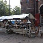 Nieuwmarkt - antique stalls