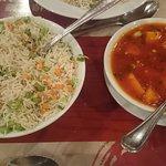 Vegetable Fried Rice & Paneer Schezwan