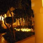The riads courtyard