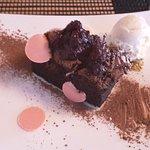 Chocolate brownie dessert - decadent!!