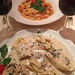 Tagliolini with seafood and cherry tomatoes - original pasta dish recipe- by Casa-Nostrana