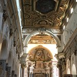 The sumptuous 18th Century Baroque interior of St Andrew's Cathedral (Duomo di Sant'Andrea Apost