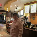 That is me at Panera Bread.