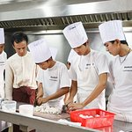 Our vocational students in practice training