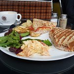 Now THAT'S what you call a toasted sandwich! amazing value and absolutely delicious x