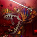 Dragon head inside Mission Chinese