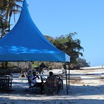 Foto de Willy's Blue tent seafood restaurant
