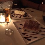 Their Tiramisu was superlative!