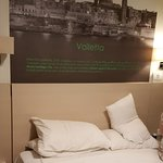 Nice Valleta Photo over bed