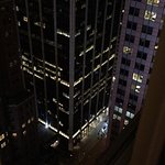 Queen double room, on the 39th floor of the Hyatt Times Square.