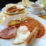 My breakfast offering.