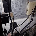 Wires in full view of room