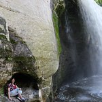 Minneopa State Park - under the falls