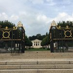 Front gates to Suresnes American Cemetery