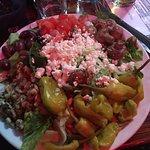 Large ..VERY Large....Greek Salad
