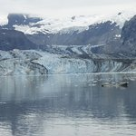 Glacier seen from boat