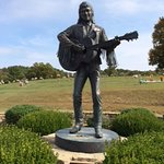 Final resting place of country music legend Keith Whitley is 3 miles away.