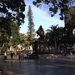 Plaza Bolívar de Caracas.