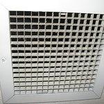 HVAC ceiling vent