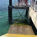 pier at Shoal Bay