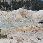 Lassen Volcanic National Park Hiking Trails Foto