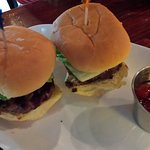 Excellent cheeseburger sliders, you get 3.