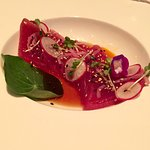 Tuna Crudo...artistry in plate !