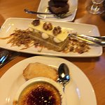 We ordered 3 different desserts to share....they were delicious..all made in house...fresh and t