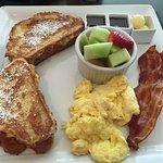 A breakfast menu item. I liked it.