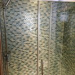 Large shower in the Ardbeg Room.
