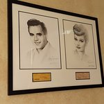 Sketches of Lucy & Desi from the 50s