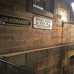 stairs down to Grassmarket