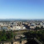 Views from Edinburgh Castle.