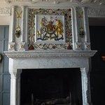 Fireplace in Edinburg Castle.