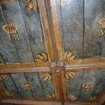 Ceilings in Edinburg Castle.