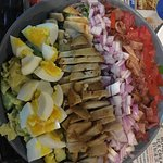 Cobb salad, SO good.