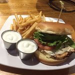 Steamworks Brewing Co. - Durango, Colorado - Cajun Chicken Sandwich
