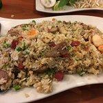 Stir fried rice.
