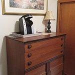 dresser and Keurig