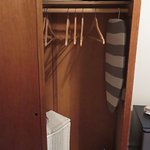 closet with hamper