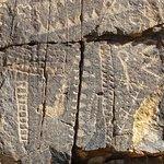 Petroglyph, Parowan Gap, uth
