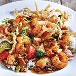 Shrimp Wonton Stir Fry