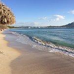 on beach looking towards Alcudia