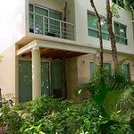 The concrete villa