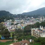 A view of a portion of Ooty from room balcony
