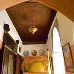 original painted wood roof